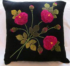 Vintage Applique Pillow