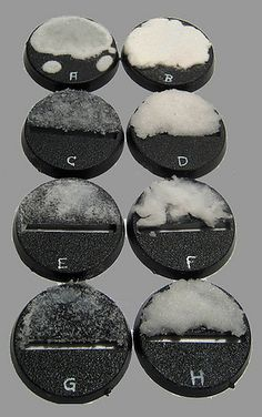 8 ways to base your models with snow