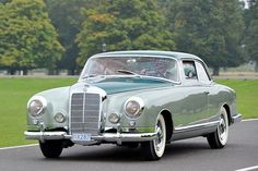 1955 Mercedes Benz 300B Coupe by Pininfarina.