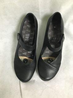 Dansko Mary Jane 41 Opal Black Nappa   eBay