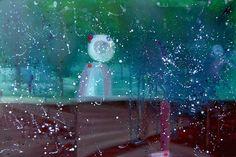"Saatchi Online Artist: Min Zou; Oil, 2012, Painting ""Supernatural space"""