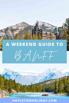 Here's my guide to two days in Banff, including the top things to do in Banff as a solo female traveller.  weekend in Banff | Banff itinerary | Banff travel guide | Banff travel tips | free things to do in Banff | budget travel Banff | solo travel Banff | places to visit in Banff | Banff tourist attractions | Canada travel destinations | visit Canadian Rockies | Canada bucket list | #Banff #CanadianRockies #Canada #NorthAmerica #travel #traveltips Canada Vancouver, Vancouver Travel, Places To Travel, Travel Destinations, Travel Tips, Budget Travel, Travel Guides, Quebec, Australia