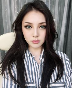 Korean Makeup Inspiration PONY Effect Nudie Glow Australia Korean Makeup Tips, Korean Beauty, Asian Beauty, Korean Wedding Makeup, Asian Makeup Prom, Pony Makeup, Eye Makeup, Braut Make-up, Cool Hair Color