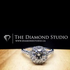 The #halo so tight that you can't even tell that there is a halo. I'm known as the #haloking for a reason. #diamond #diamonds #wedding #weddings #engagement #ring #rings #bride #brides #jewellery #jewelry #halo #diamondboi