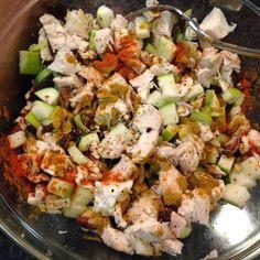 Curry & cayenne, Vegenaise, #organic 🍏, toasted pecans, raisins, celery and chicken make an amazing chicken salad! Yummo! #Austin360cooks #whatsfordinner #feedfeed #OrganicMoments @thefeedfeed #food #foodpic #foodporn #foodie #homecook #f52grams #instafood #foodstagram #foodwinehealth #FWhealthy #yahoofood #huffposttaste #buzzfeedfood #EEEEEATS #eatwell #eathealthy #eattherainbow 🌈 #cleaneating #goodeats #organic #glutenfree #dairyfree #caseinfree #theweeklymenu
