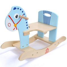 Top 10 Easy Woodworking Projects to Make and Sell Baby Toys, Kids Toys, Rocking Horse Toy, Wooden Rocking Chairs, Wood Animal, Wood Toys, Educational Toys, Kids Furniture, Diy For Kids