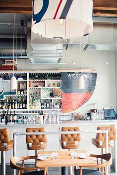 Westward | #restaurantdesign #restaurantinterior #interiordesign