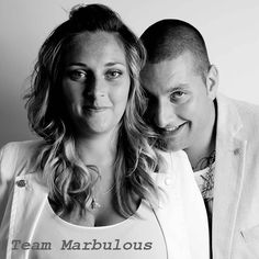 Het gezicht van Team Marbulous