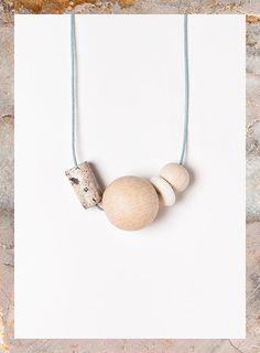 Terrestre 01 necklace by Depeapa by depeapa on Etsy