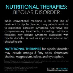 Natural Remedies: Nutrients for Bipolar Disorder