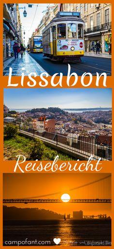Zwei Tage waren wir in Portugals Hauptstadt Lissabon. In diesem Reisebericht nehmen wir euch an einem Tag mit in die Großstadt. Und wir verraten euch, warum man das besser nicht an einem Freitag tun sollte. #lissabon #reisebericht #portugal