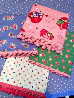 Pom pom and rick rack edged pillowcases ~ My Sew Sweet Studio