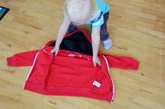 5 Sekunden Montessori - Jacke allein anziehen