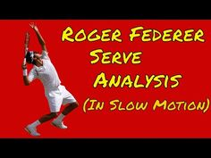 Roger Federer is widely acknowledged as the best tennis player of all time. One reason for this is his awesome serve. He does not have the biggest serve in t. Tennis Serve, Roger Federer, Tennis Players, All About Time, Sports, Youtube, Tennis, Hs Sports, Sport