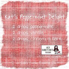 Kat's Peppermint Delight My 10 year old daughter's favorite…