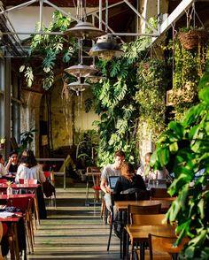 Home Decoration For Small House Cozy Restaurant, Restaurant Design, Restaurant Seating, Restaurant Ideas, Bar Paris, Resto Paris, Green Bar, Celestial Wedding, Interiors