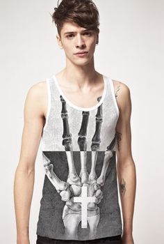 Catacomb Tank by ODD. available at www.odd-style.com.  $45.00
