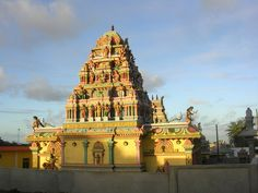 Mauritius, Flacq Tamil Temple