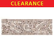 Clearance! Paoro Decorative Travertine Border