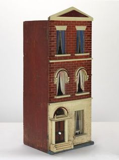 Box Back Terrace, 1890-1910, England  Rick Maccione-Dollhouse Builder www.dollhousemansions.com