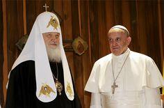 Патриарх Кирилл и Папа Римский подписали декларацию (видео)
