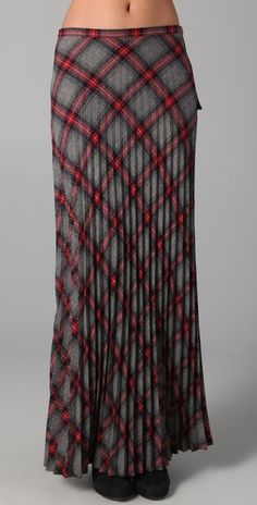 L.A.M.B. Pleated plaid.  Looks like a skirt I had in high school 1974-75