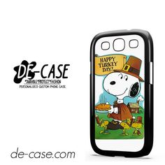 Snoopy Happy Turkey Day DEAL-9759 Samsung Phonecase Cover For Samsung Galaxy S3 / S3 Mini