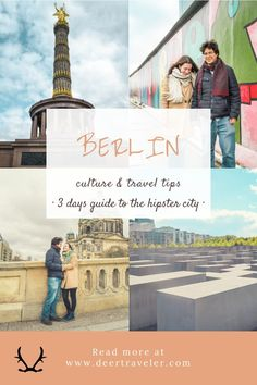 3 perfect days in Berlin! - all things to do and see in the hipster German capital - Read our guide for culture and travel tips! Pergamon Museum, Museum Island, Potsdamer Platz, East Side Gallery, Berlin City, Germany Castles, Fairytale Castle, Europe Destinations, Vacation