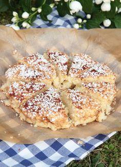 Snabb picknickkaka Best Dessert Recipes, Candy Recipes, Fun Desserts, Bagan, Pastry Cake, Everyday Food, Something Sweet, Ice Cream Recipes, Chocolate Recipes