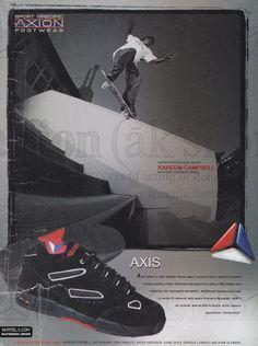 Axion Footwear - Axis Model Ad (2000)