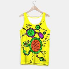 Doodle Tank Top Printed Tank Tops, Fun Stuff, Doodles, Comfy, Unisex, Live, Stylish, T Shirt, Fashion