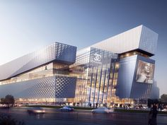 The Heart of Yiwu, An 'Urban Living' Plaza | Aedas | Architecture | Retail | Yiwu, PRC