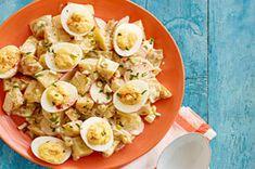 Salade de pommes de terre et d'œufs à la diable