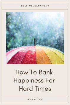 If things are going well right now, bank up some happiness that you can draw from when things get tough. Read on for a bunch of pragmatic, implementable tips that will make the hard times easier! Spiritual Love, Spiritual Awakening, Tough Times, Hard Times, Happy Facebook, Self Healing Quotes, You Better Work, Soul Quotes, Spiritual Practices