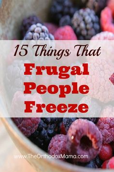 Things That Frugal People Freeze Did you know that you can freeze cheese? Find out what else you can put in your freezer to save time and money!Did you know that you can freeze cheese? Find out what else you can put in your freezer to save time and money! Frugal Living Tips, Frugal Tips, Frugal Meals, Budget Meals, Budget Recipes, Budget Binder, Frugal Family, Freezer Cooking, Freezer Meals