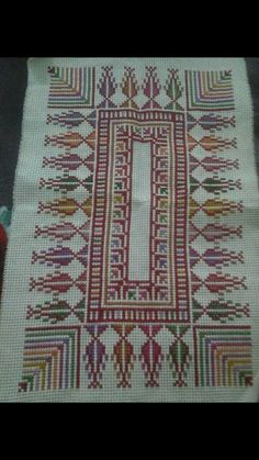 Cross Stitch Borders, Cross Stitch Designs, Cross Stitching, Cross Stitch Patterns, Blackwork Embroidery, Cross Stitch Embroidery, Needlepoint Patterns, Embroidery Patterns, Palestinian Embroidery