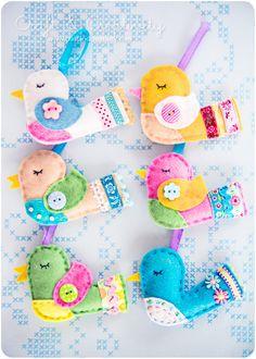 Easter birds by Craft & Creativity, via Flickr