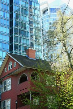 old and new, vancouver