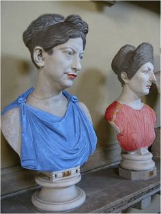 Busts of Serious Women. Ancient Rome, Ancient Art, Ancient Greece, Rome Costume, Costumes, Ancient Roman Clothing, Roman Hairstyles, Roman Dress, Roman Clothes
