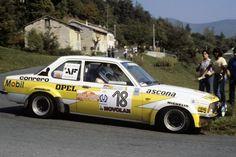 Opel Ascona SR Cerrato Guizzardi Sanremo 79