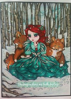 """Whimsical Winter"" - Mermaids, Fairies, & Other Girls of Whimsy - Hannah Lynn"