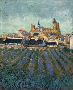 Vincent van Gogh Vue de Saintes Maries 1888 painting for sale, this painting is available as handmade reproduction. Shop for Vincent van Gogh Vue de Saintes Maries 1888 painting and frame at a discount of off. Vincent Van Gogh, Van Gogh Paintings, Paintings I Love, Beautiful Paintings, Claude Monet, Desenhos Van Gogh, Van Gogh Arte, Van Gogh Pinturas, Sainte Marie