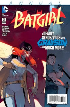 Weird Science: Batgirl Annual #3 Preview