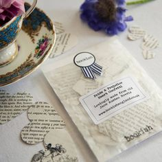 Bookish England Pride And Prejudice Confetti