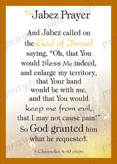 The Jabez Prayer Prayer Scriptures, Bible Prayers, Faith Prayer, Prayer Quotes, Bible Verses Quotes, Spiritual Prayers, Spiritual Encouragement, Biblical Verses, God Prayer