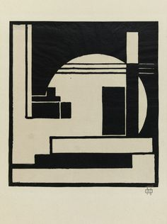 César DOMELA - Composition, 1924