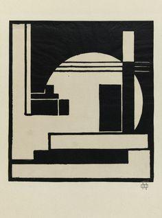 César DOMELA - Composition, 1924