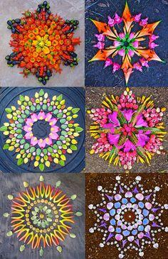 New Flower Mandalas by Kathy Klein | http://www.designrulz.com/design/2015/07/new-flower-mandalas-by-kathy-klein/