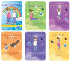 COMING SOON! Empowerment Affirmation Cards for Kids designed to help children… Preschool Yoga, Positive Affirmations For Kids, Childrens Yoga, Mindfulness For Kids, School Health, Guidance Lessons, Affirmation Cards, Preschool Printables, Special Needs Kids