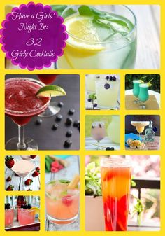 Have a Girls' Night In: 32 Girly Cocktails from Community Table